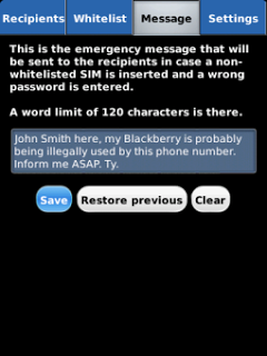 Anti Theft with Phone Tracer v1.2 for BlackBerry